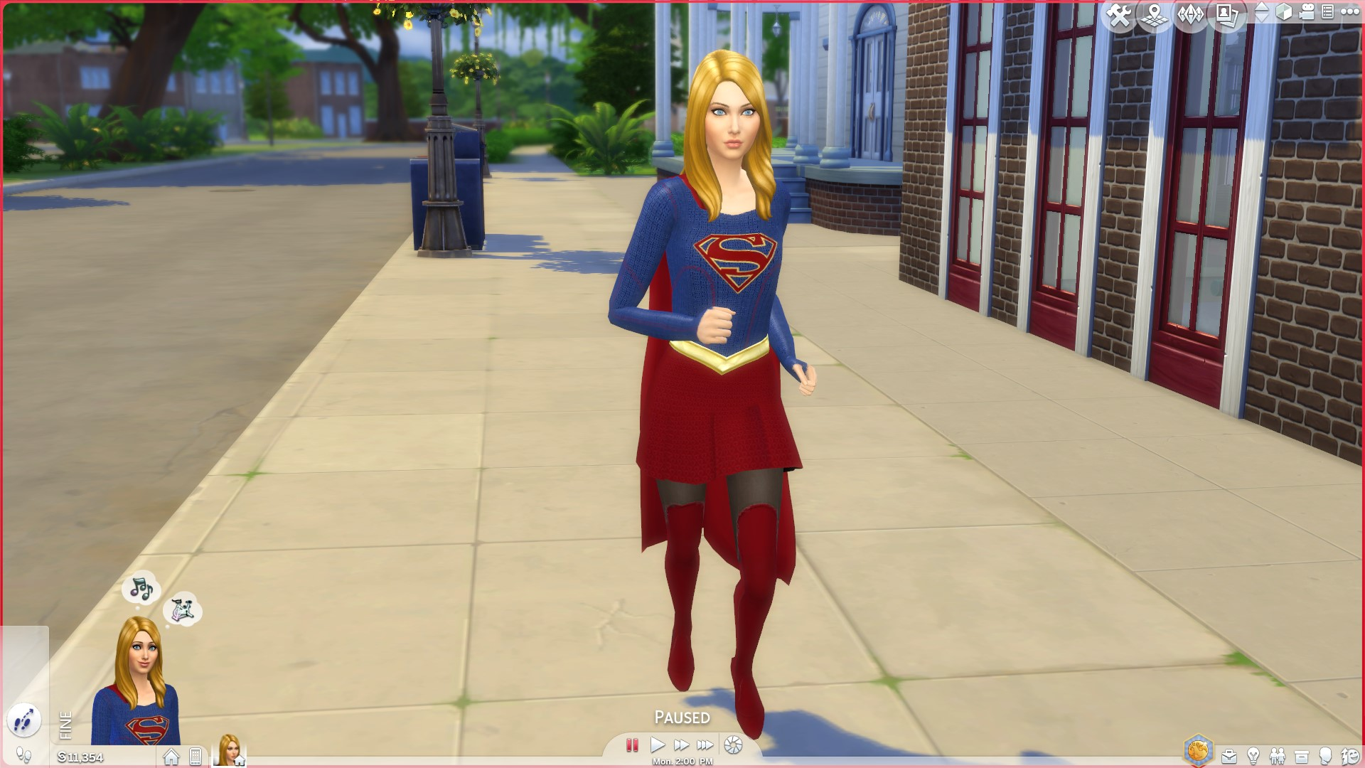 Mod The Sims Supergirl Tv Show